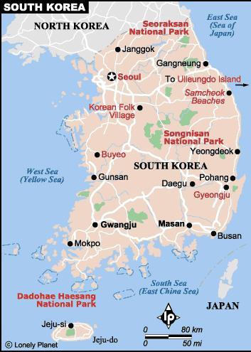 Vận chuyển hàng đi Hàn Quốc từ TP HCM