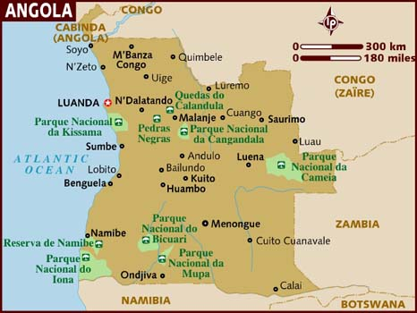 Vận chuyển hàng đi Angola từ TP HCM