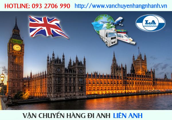 Vận chuyển hàng đi Anh từ TP HCM