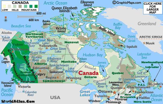 Vận chuyển hàng đi Canada từ TP HCM