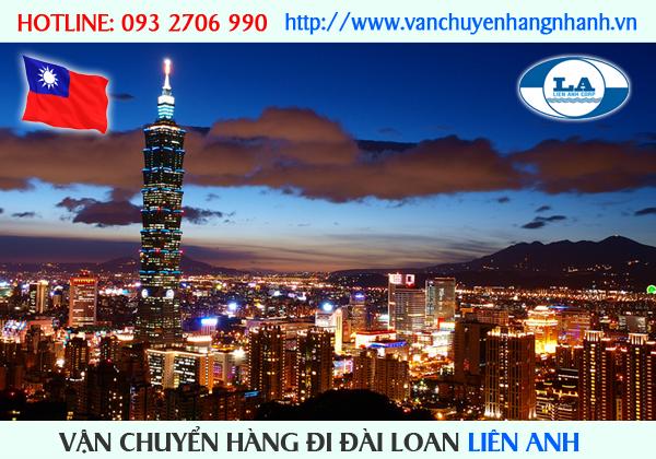 Vận chuyển hàng đi Đài Loan từ TP HCM