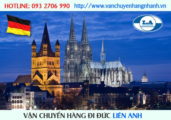 Vận chuyển hàng đi Đức từ TP HCM
